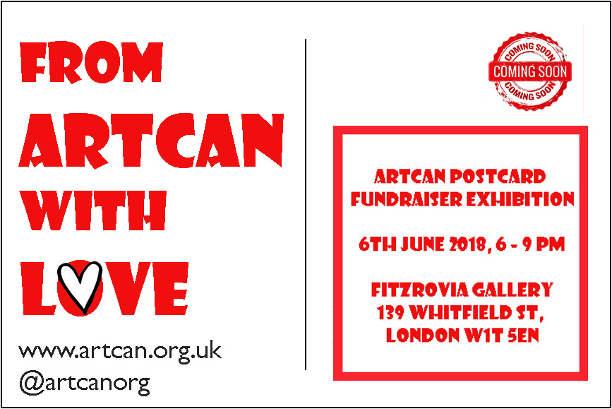 ArtCan with Love fundraiser
