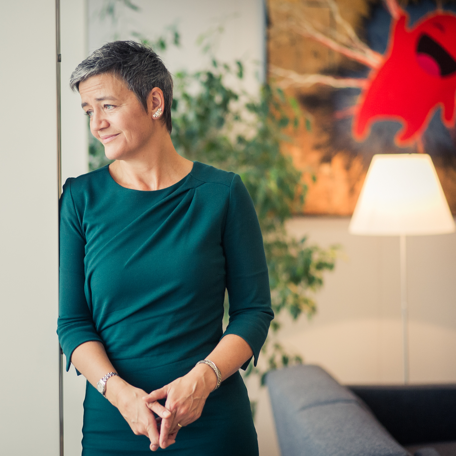 Margrethe Vestager for Les Echos Weekend