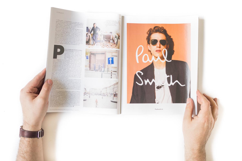 """""""M"""" Magazine for le Monde, April 2016"""