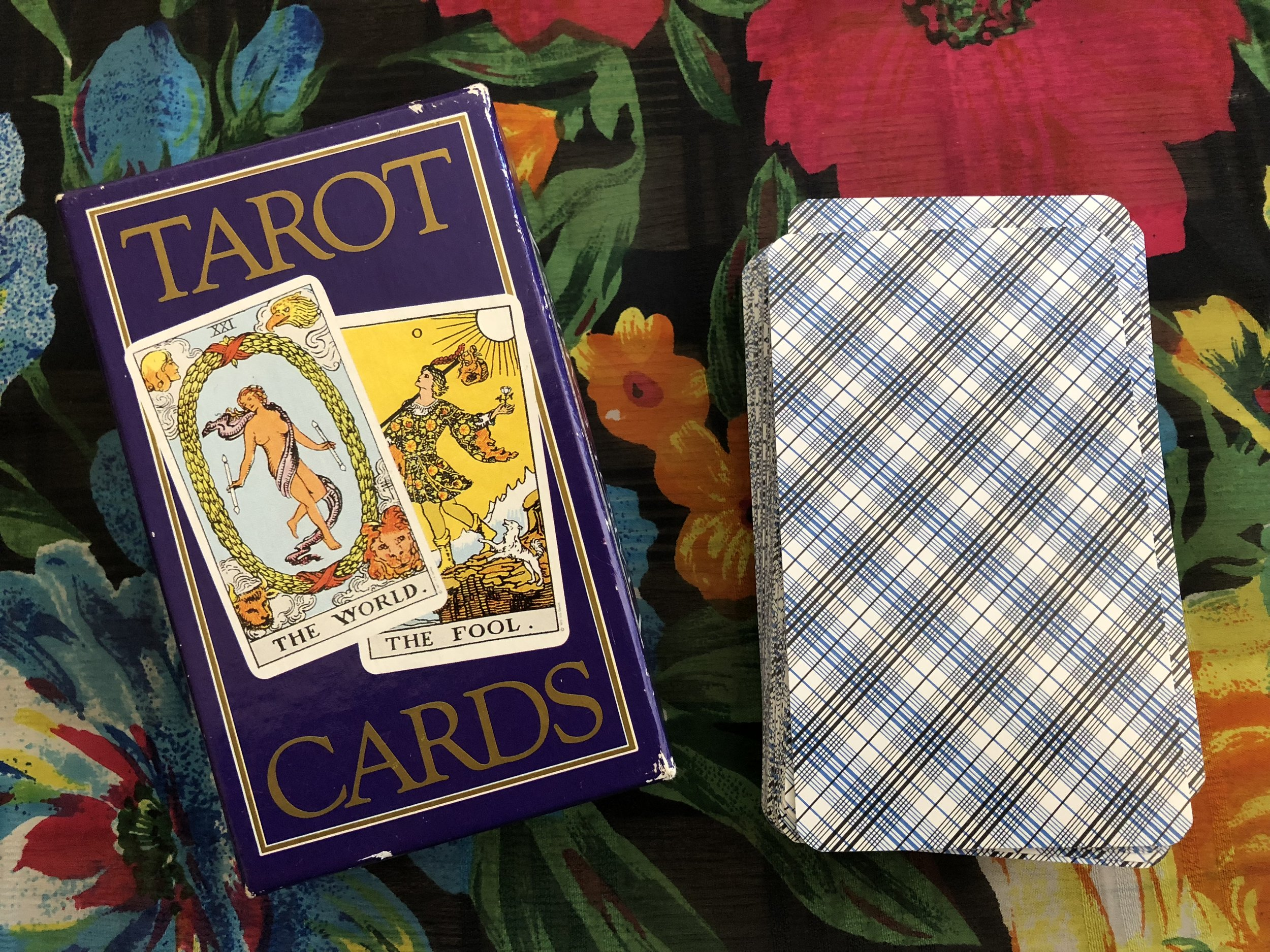 rider waite smith tarot deck