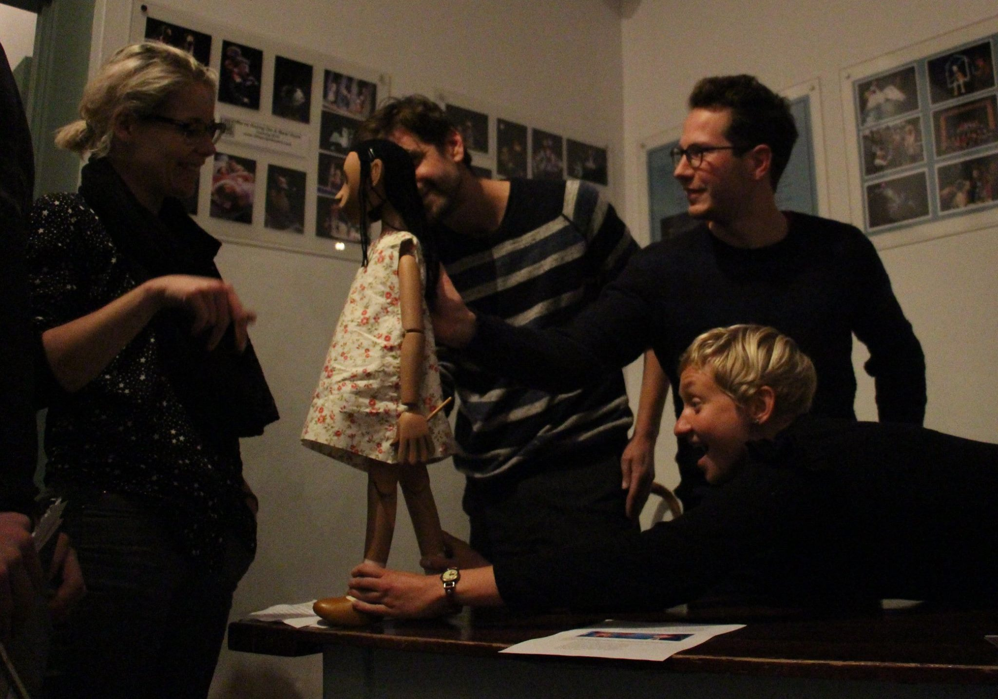 Devising with Dotted Line Theatre