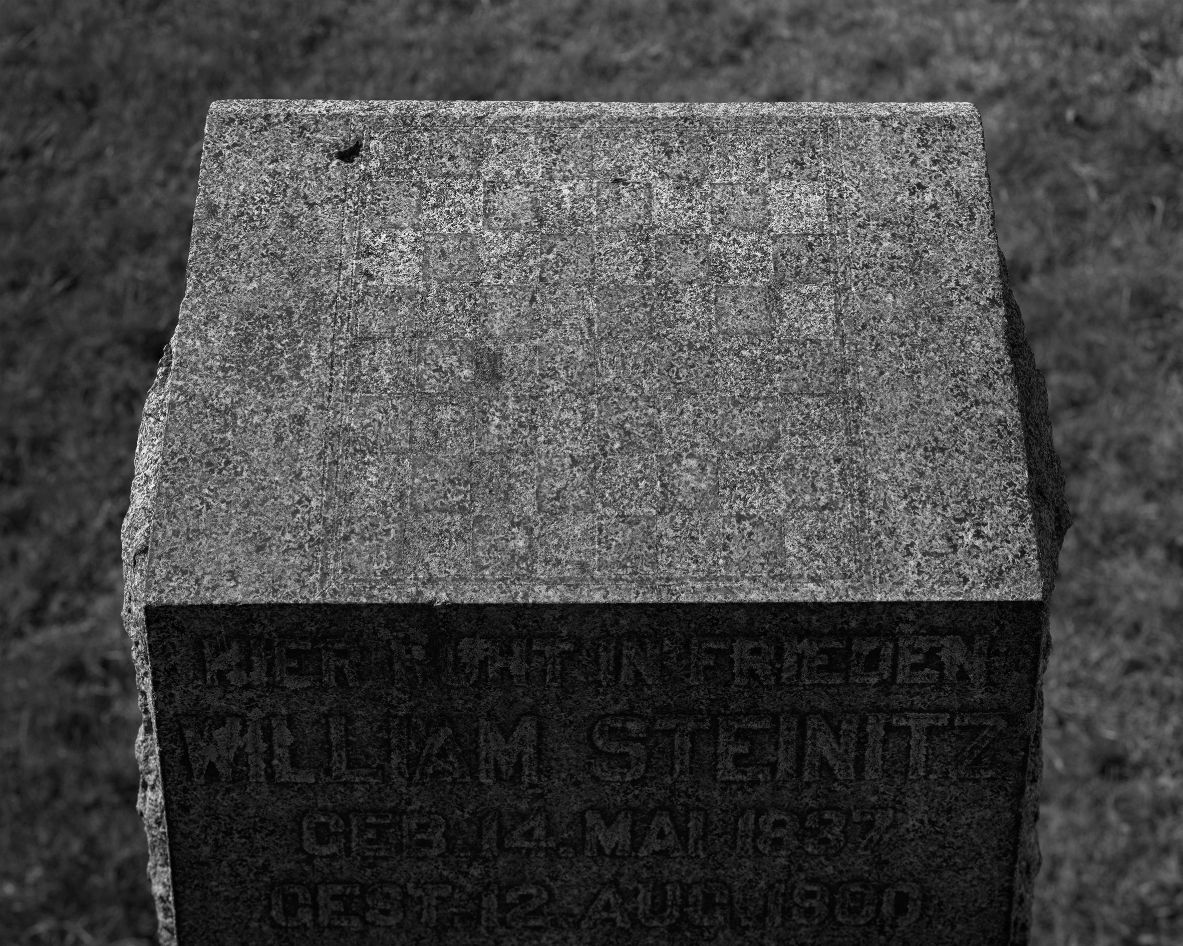 Wilhelm Steinitz grav, New York.jpg