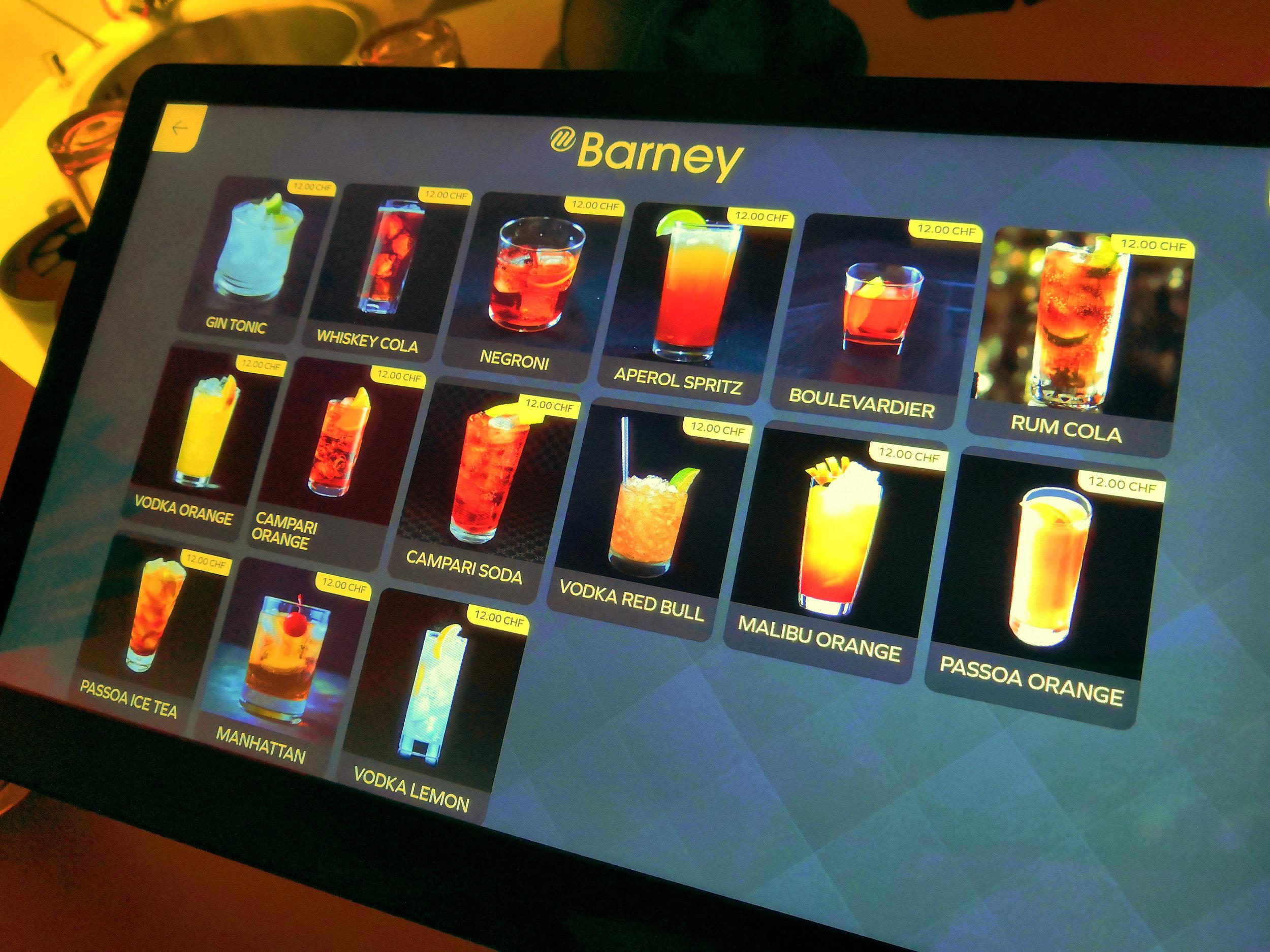 eine Auswahl von Barneys Cocktails. Quelle: Lunchgate/Jennifer