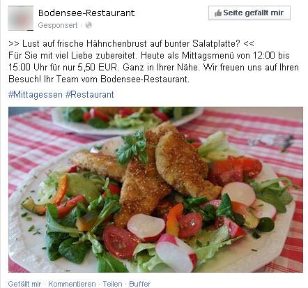 Quelle: Bodensee-Restaurant / facebook