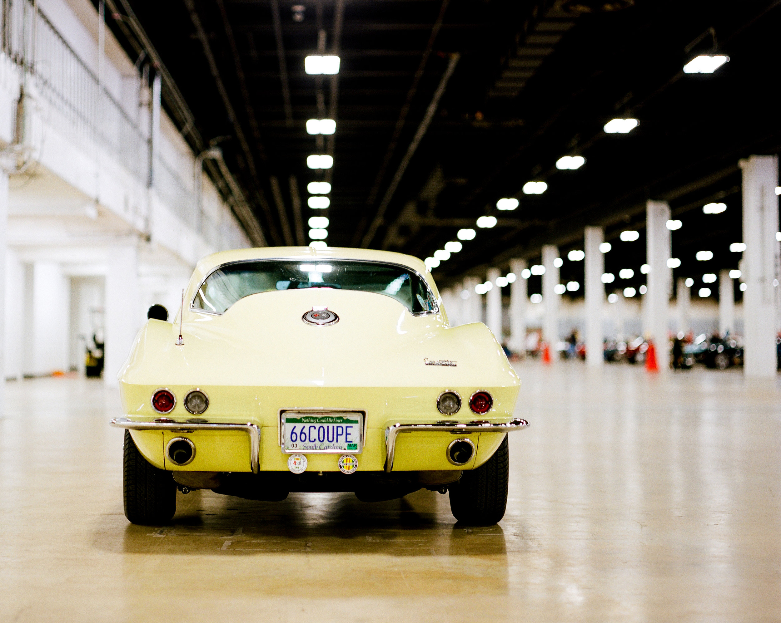 1966 Corvette at NCRS Regional Show in Greenville, South Carolina ■ Pentax 6x7 ■ Kodak Portra 400