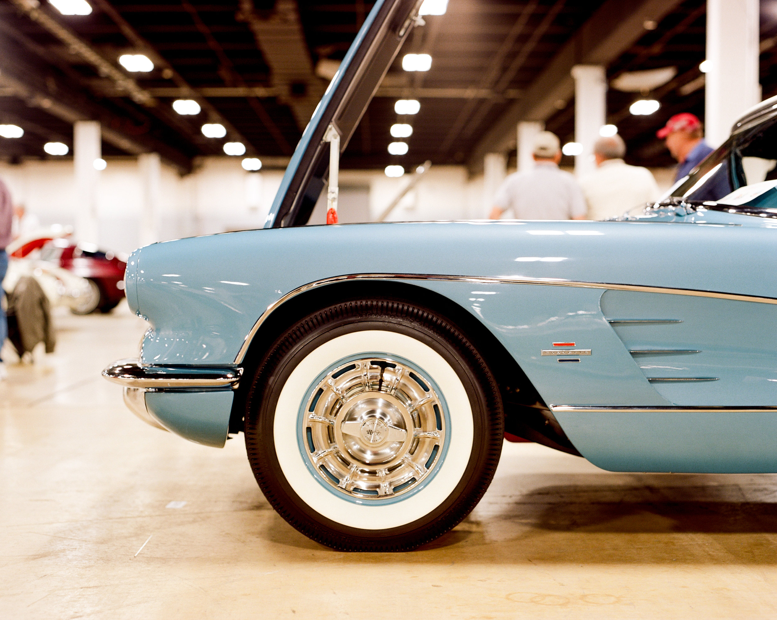 Classic corvette on film Pentax 67