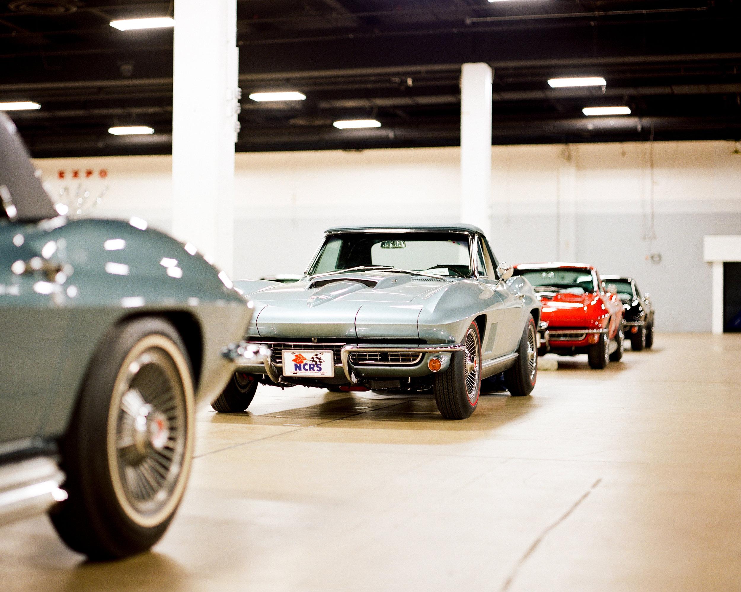 1967 Corvette Row on Film