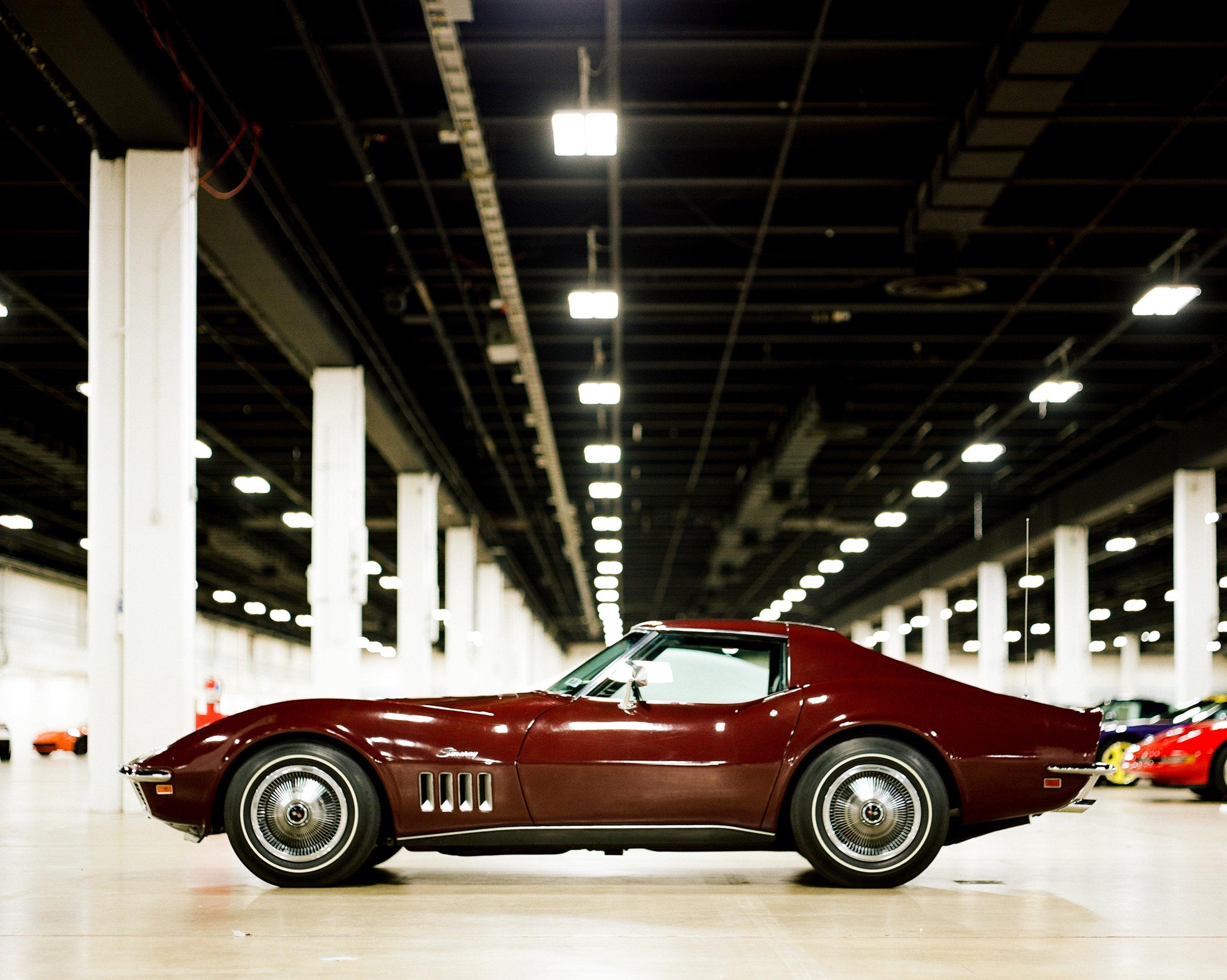 1969 Big Block Burgundy Corvette