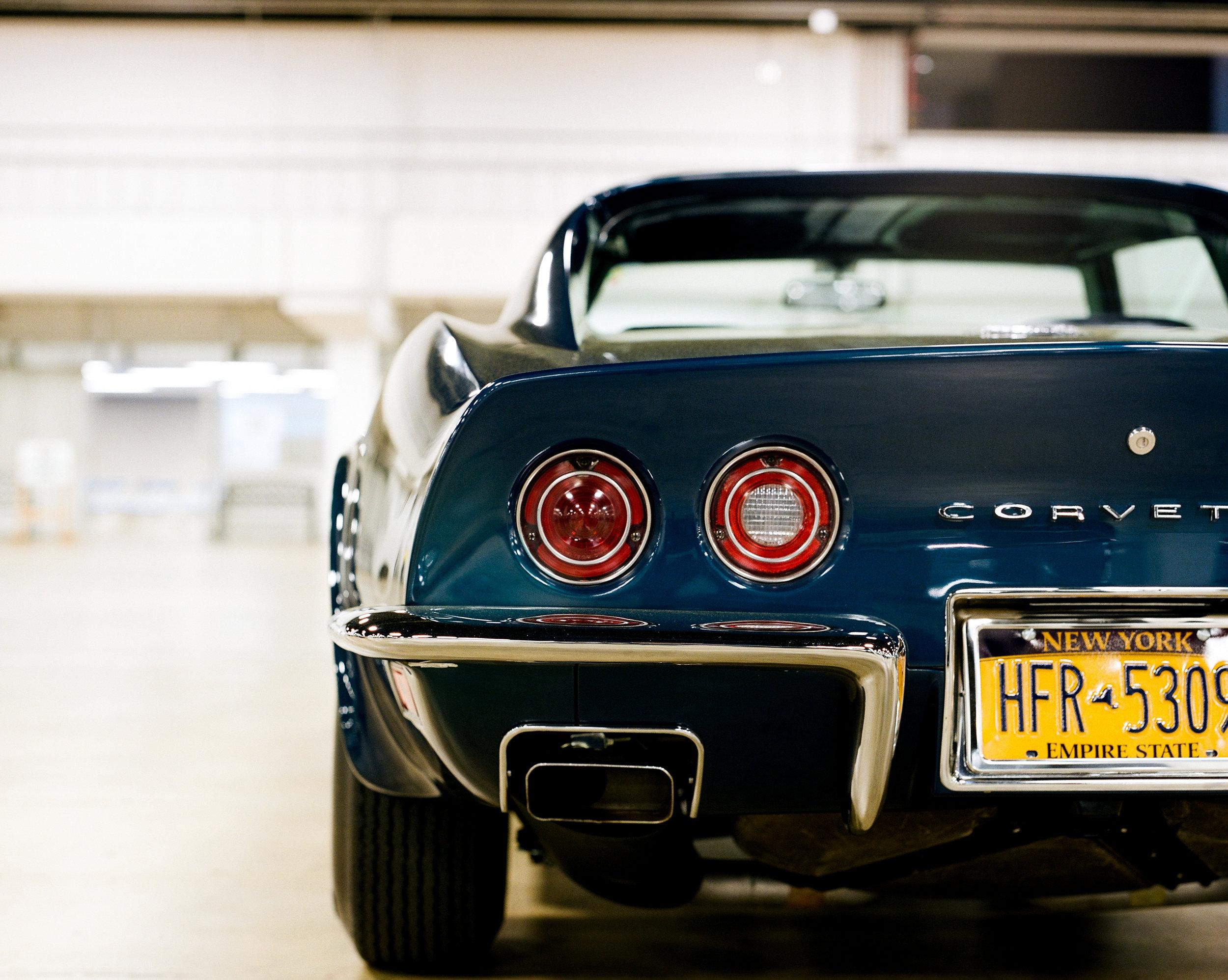 1972 Corvette Rear on Film