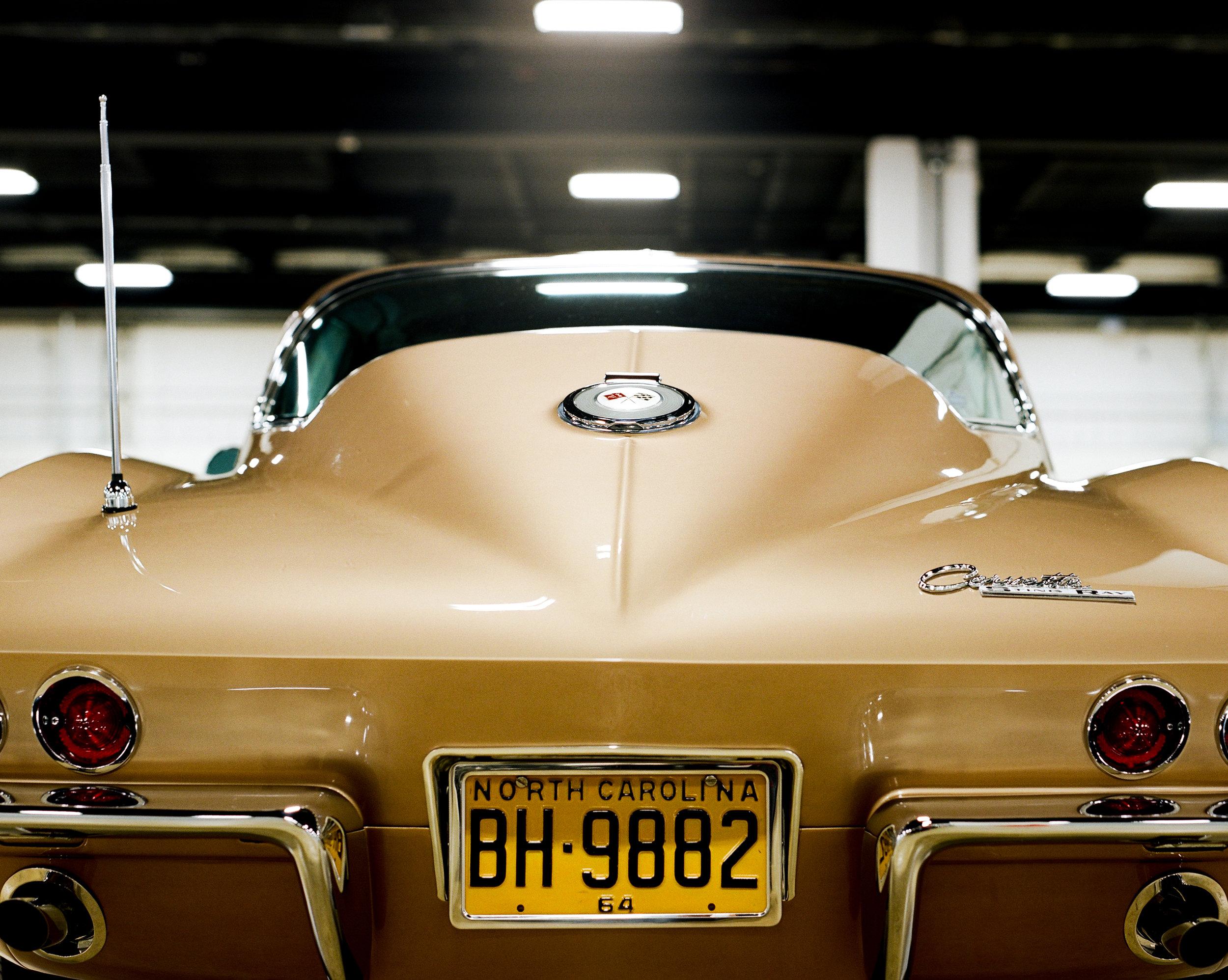 1964 Saddle Tan Corvette Rear End