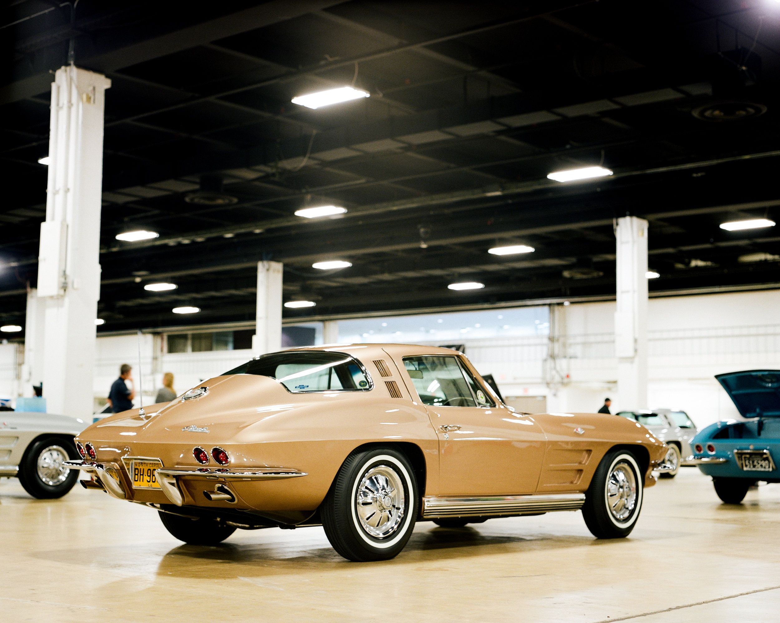 1964 Saddle Tan Coupe Corvette
