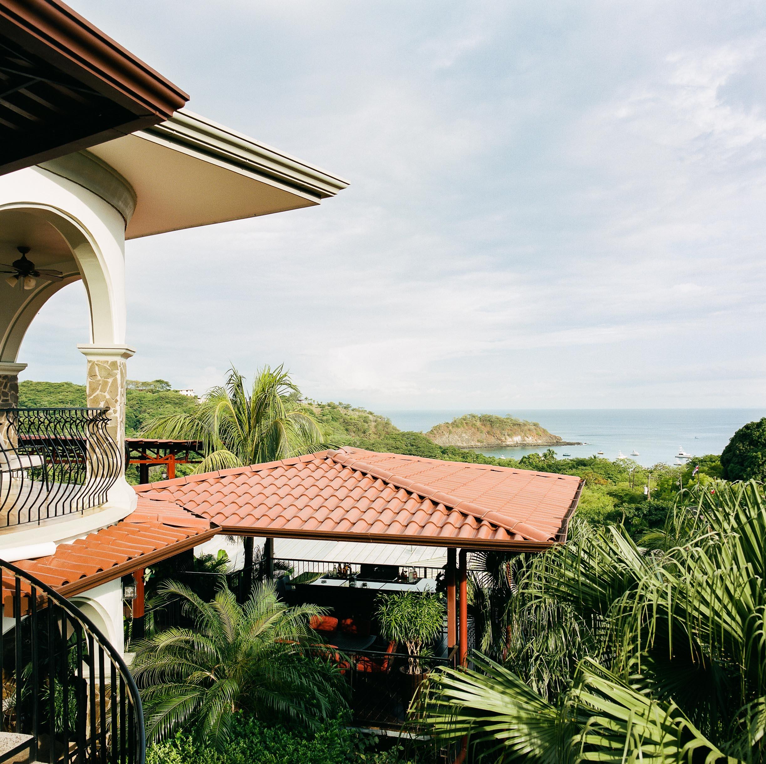 Villa Cascada overlooking Ocotal Bay ■ Hasselblad 500c/m ■ Kodak Portra 400