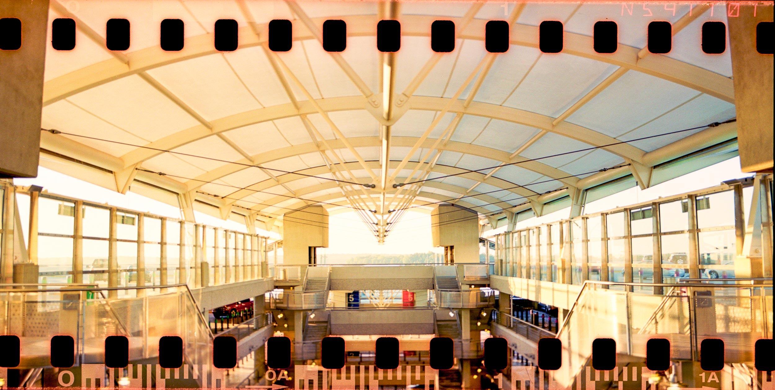 Sunrise at Raleigh-Durham International ■ Pentax 6x7 ■ Kodak Ektar 100 (35mm)