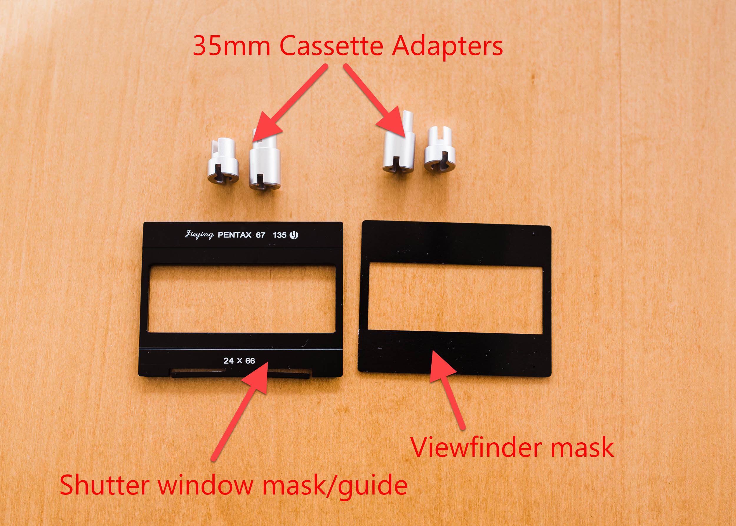Pentax 67 panorama kit for 35mm film