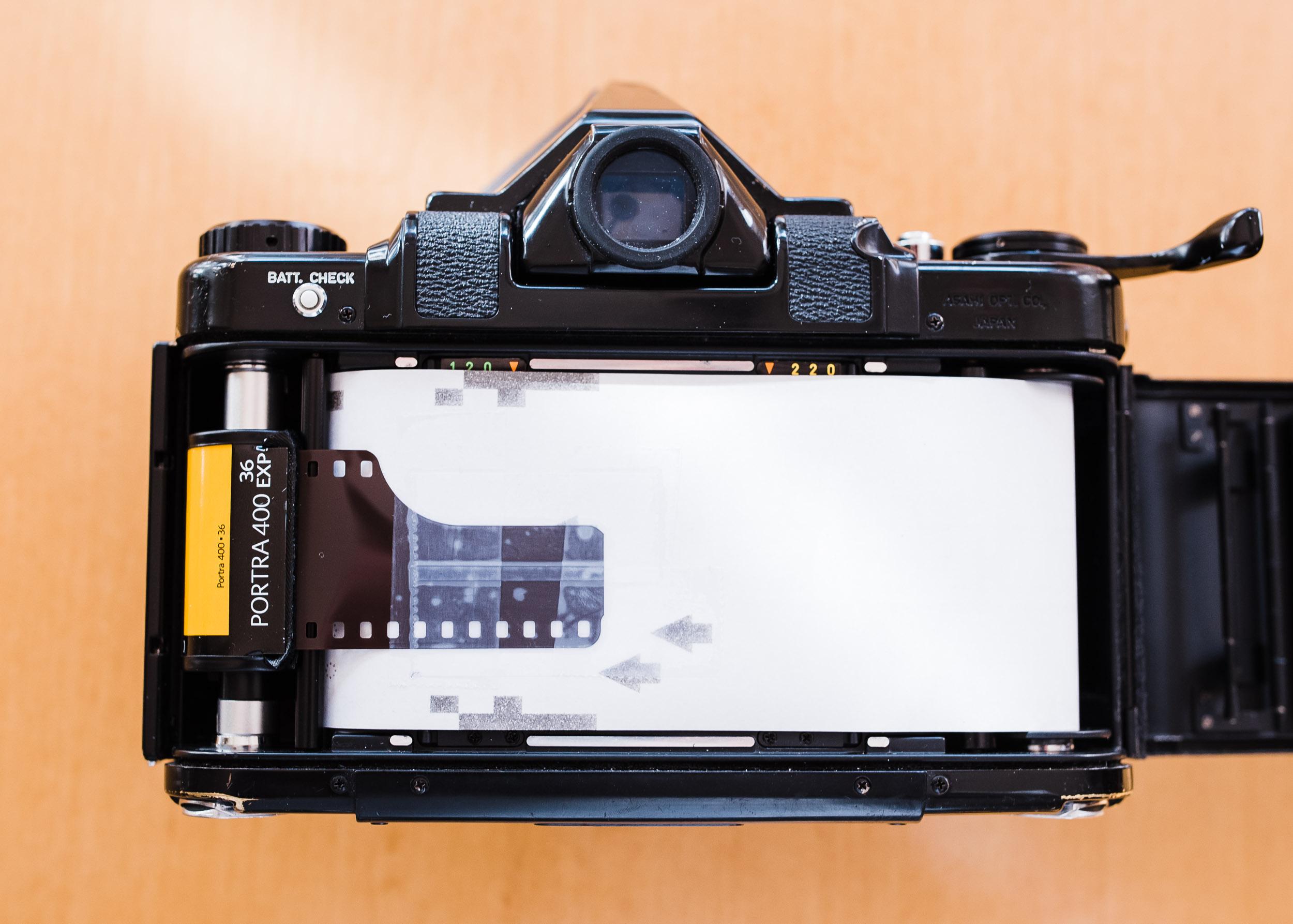 Pentax 67 35mm panorama step 3