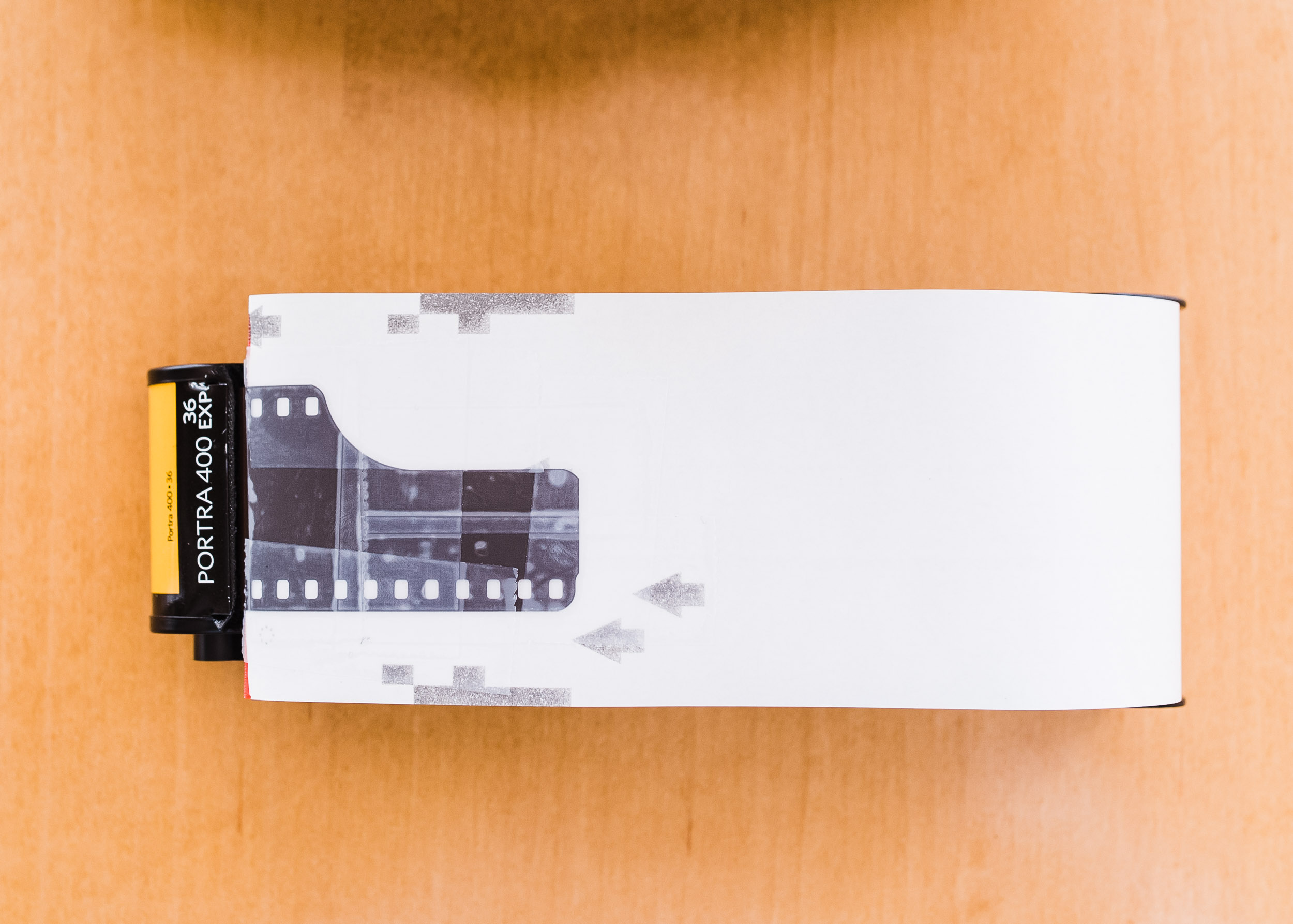 Pentax 67 35mm panorama step 4