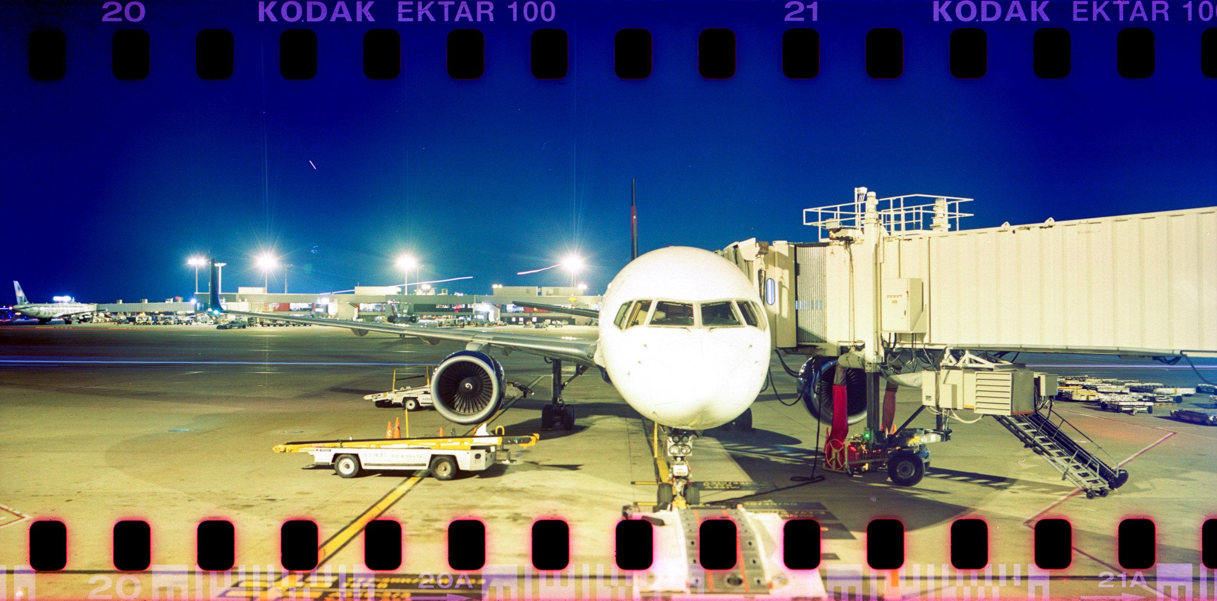 Pentax 67 Panorama 35mm Long Exposure