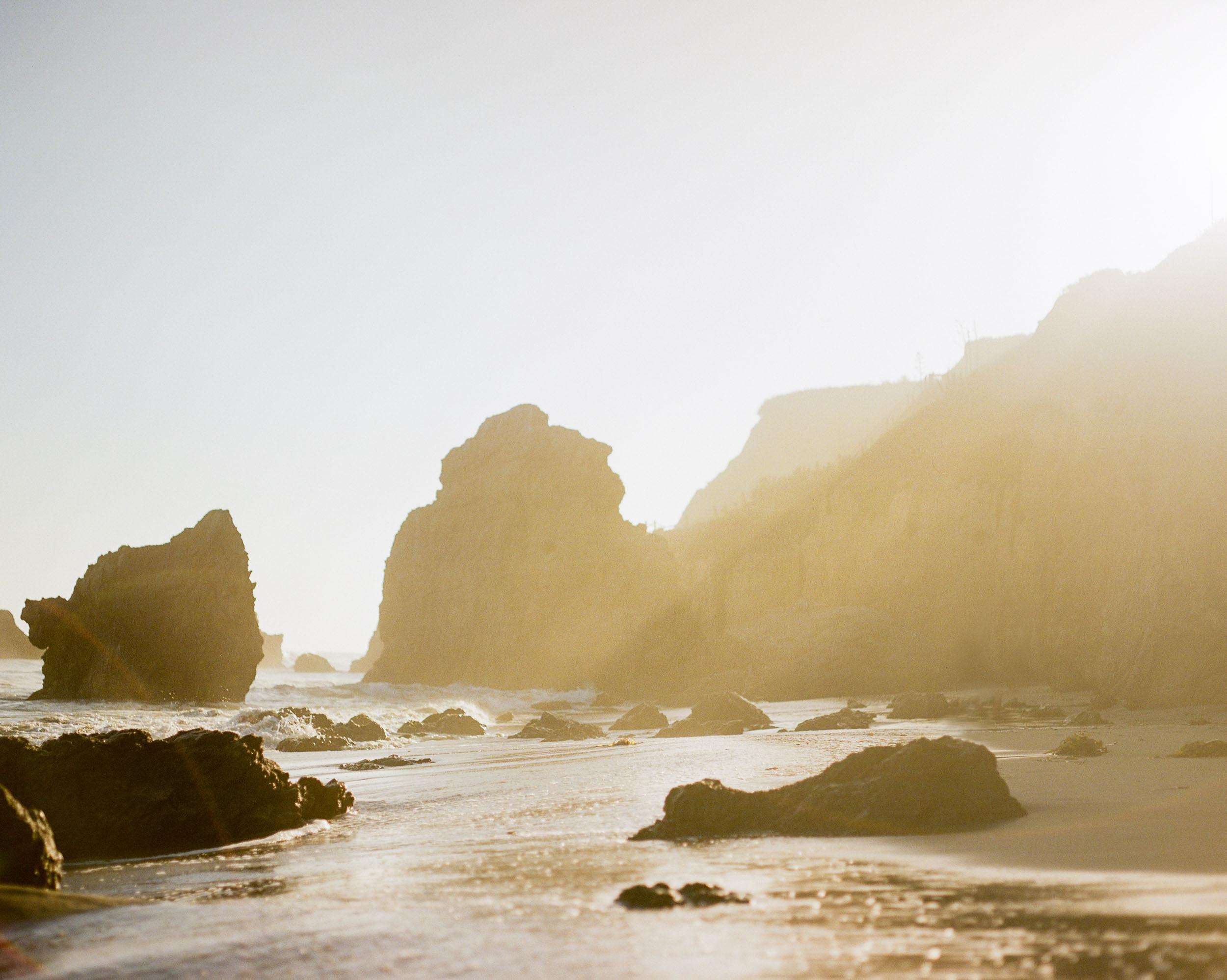 El Matador Beach Light ■ Pentax 67 ■ Kodak Portra 800