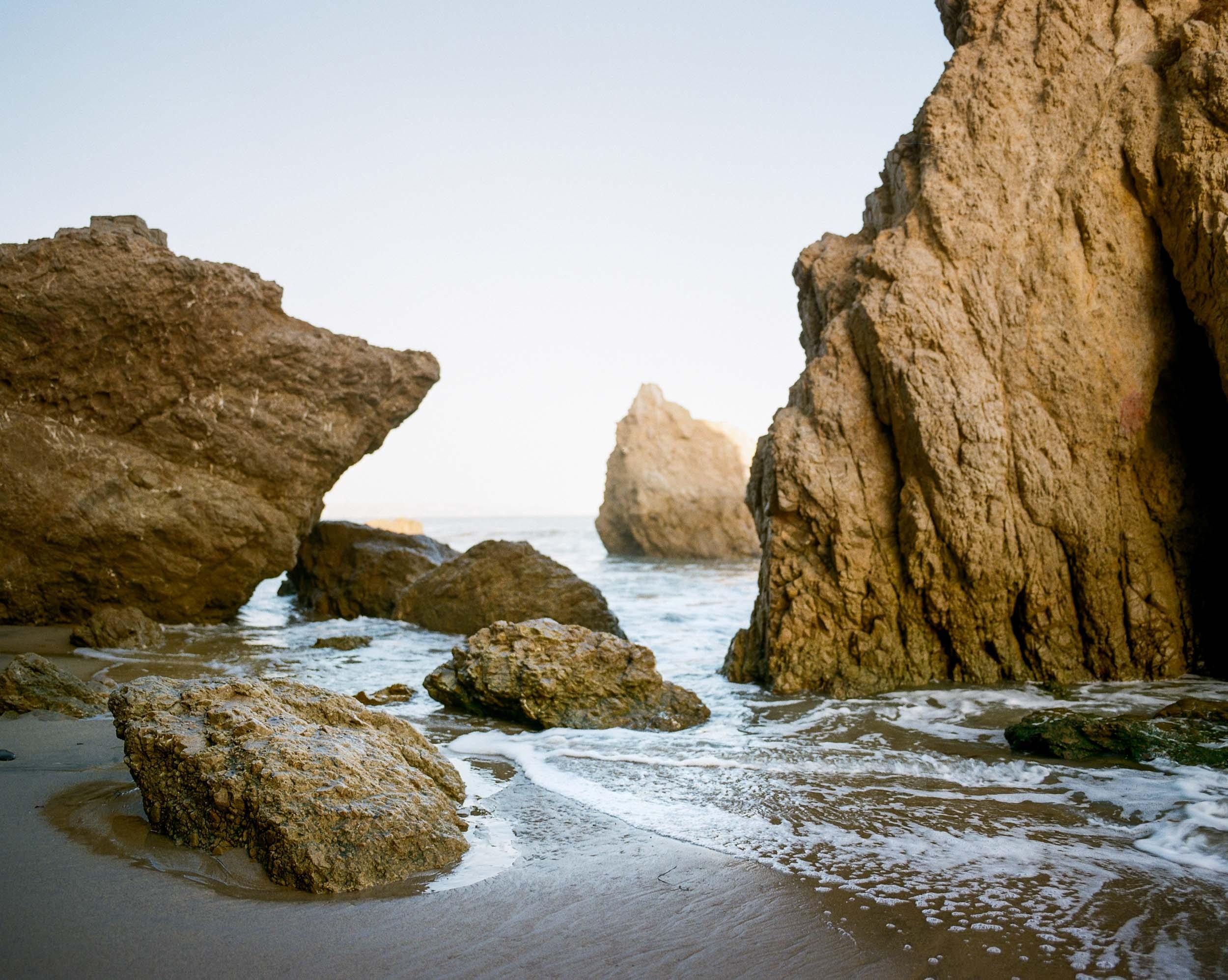 El Matador Beach Rocks