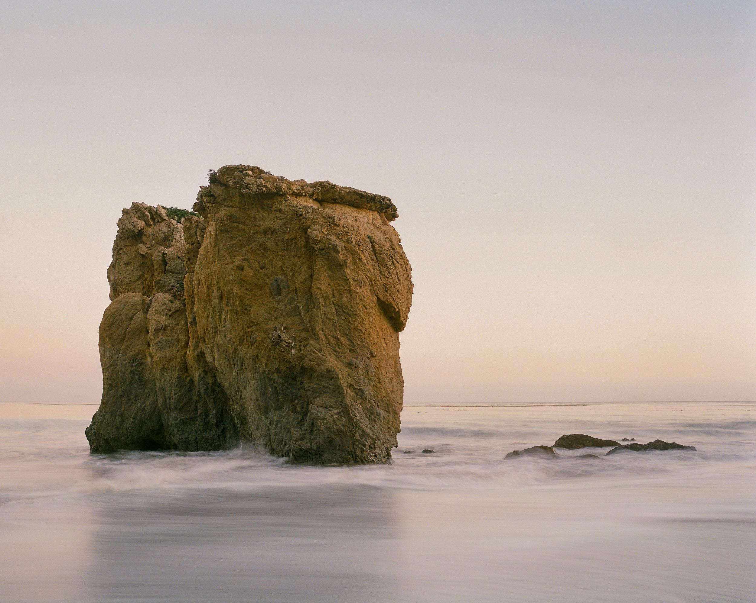 El Matador Beach Long Exposure ■ Pentax 67 ■ Kodak Portra 800