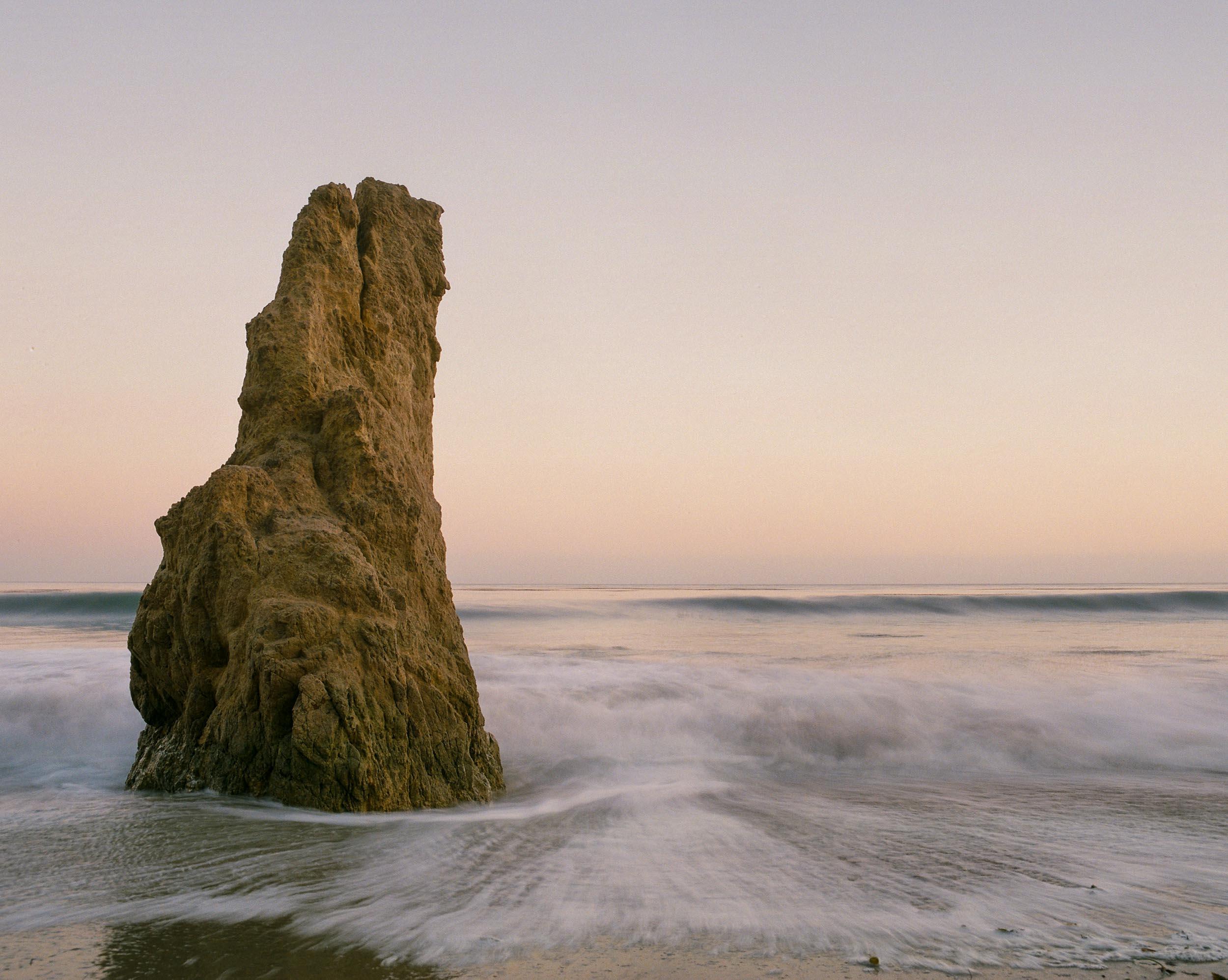 El Matador Beach Long Exposure Film
