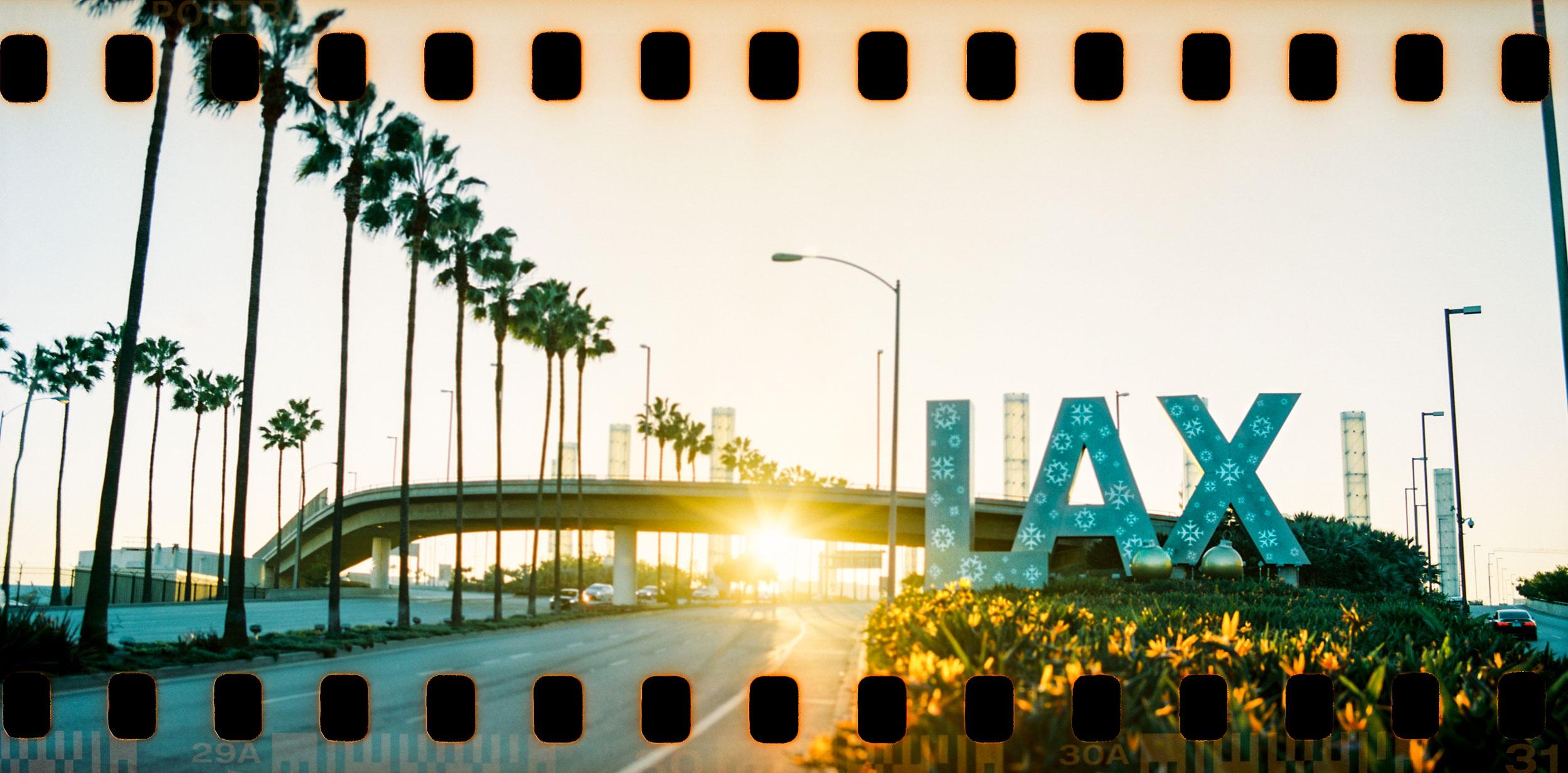 LAX Airport Pentax 67 35mm panorama