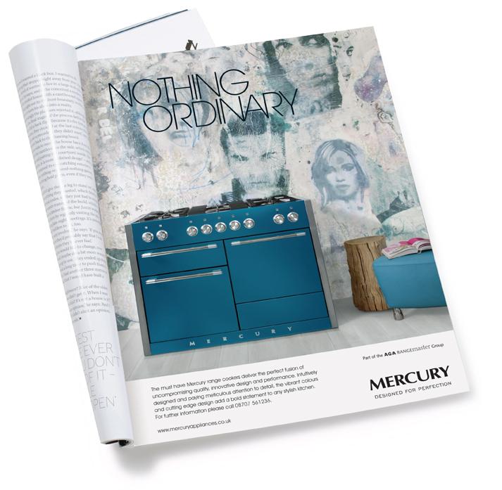 AGA Mercury Advert Design