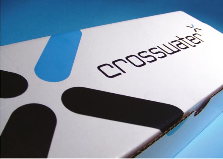 Crosswater Packaging Design