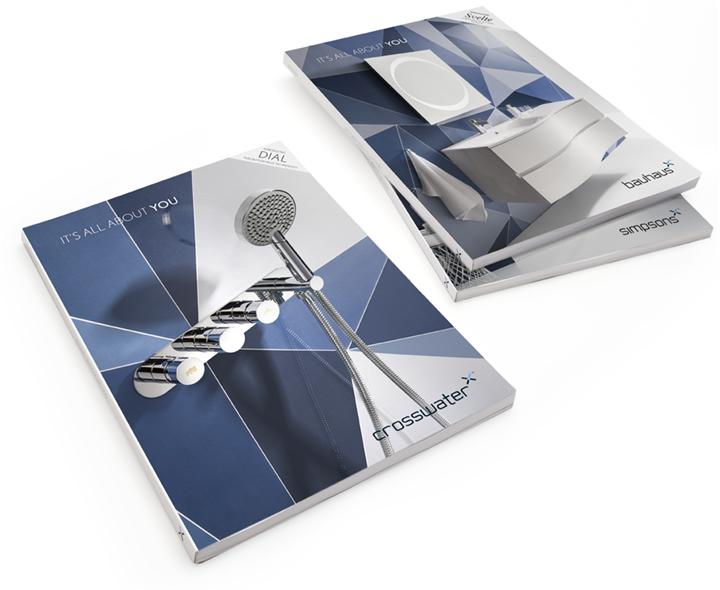 Crosswater Brochure / Catalogue Design