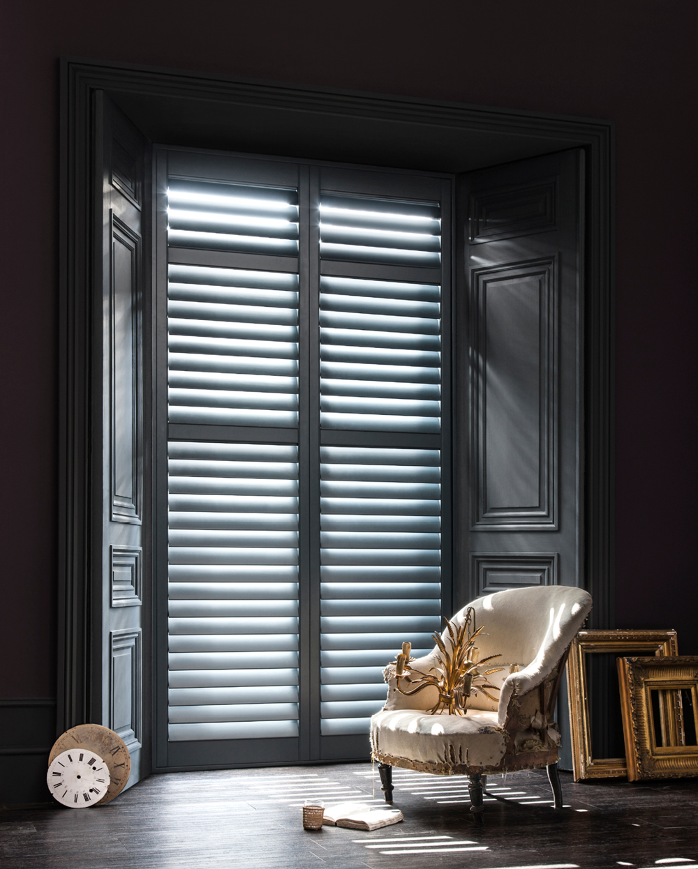 Luxury Shutters Lifestyle Photography