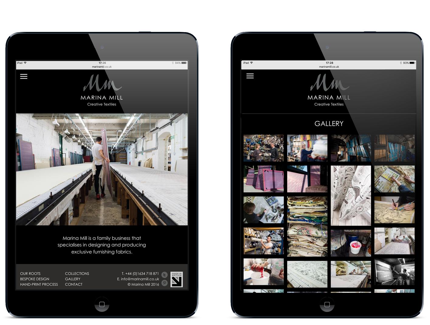 marina mill website