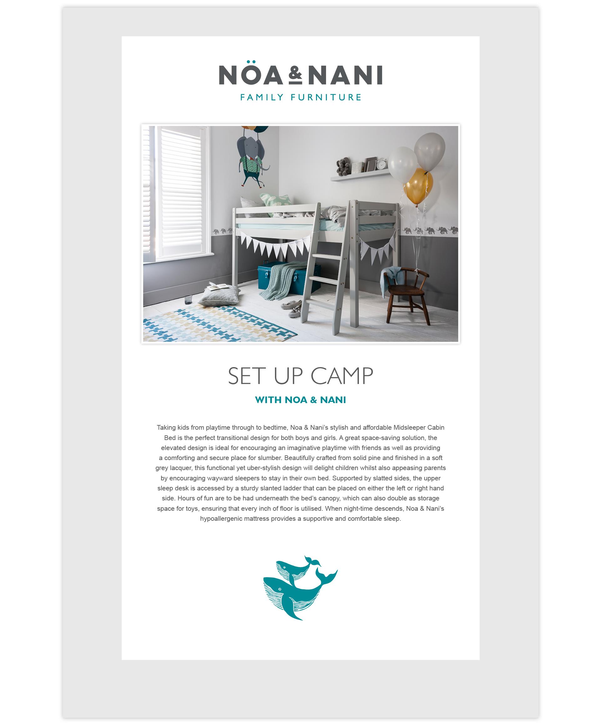 Noa & Nani Press Release Example