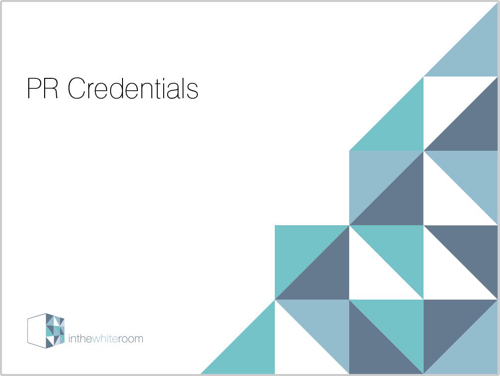 PR Credentials