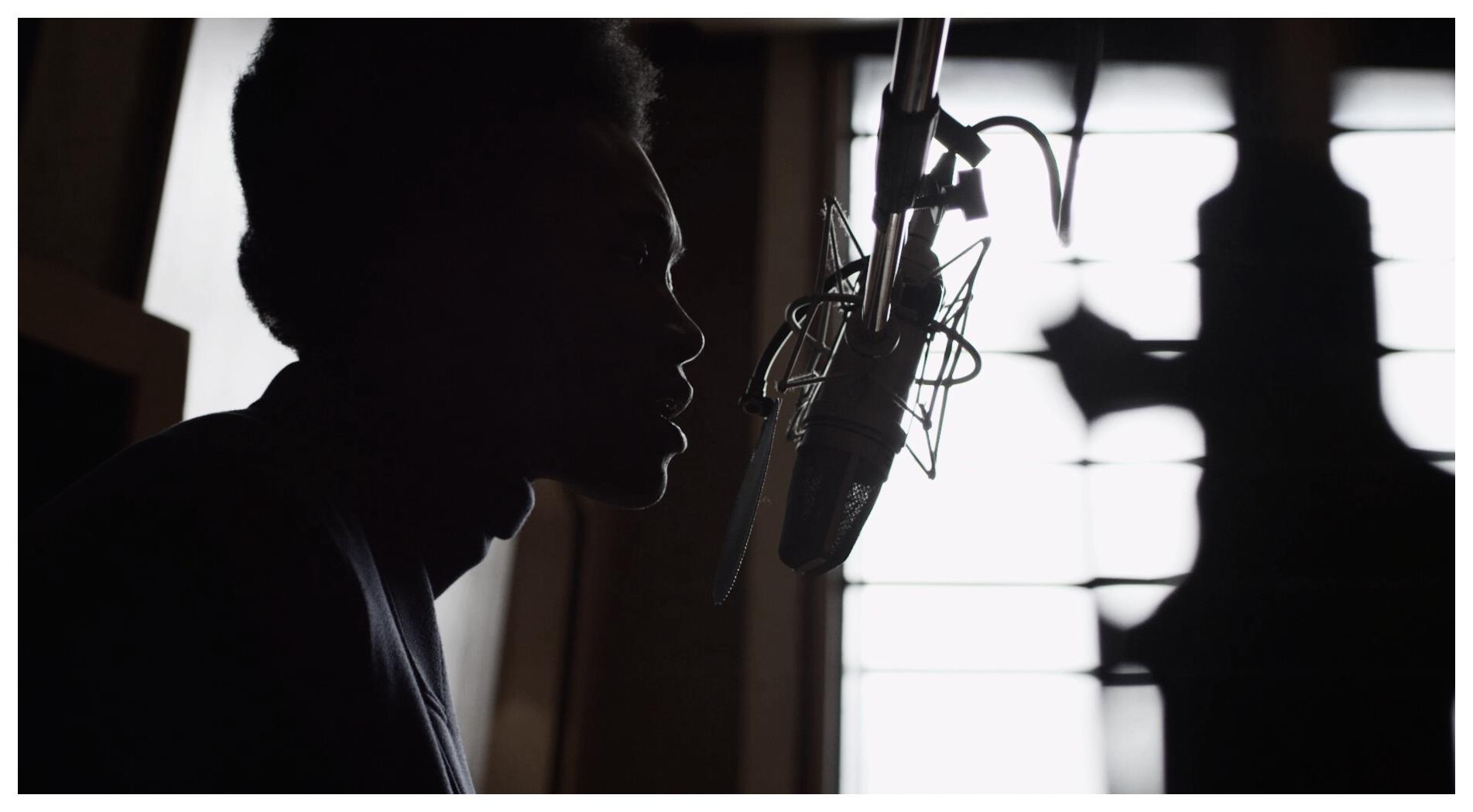 """Mr Burberry"" Benjamin Clementine Recording Session"
