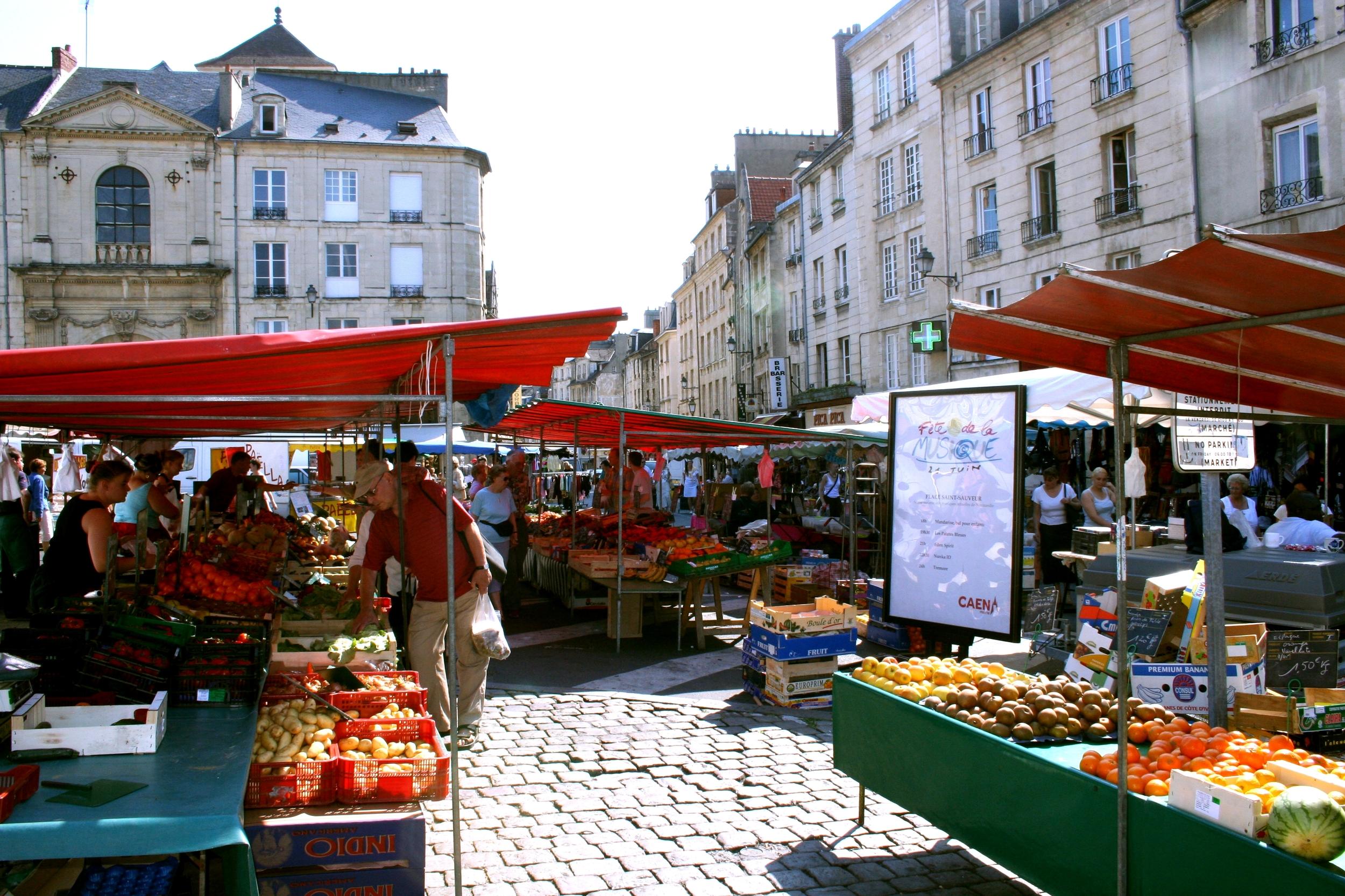 Le marché de Caen