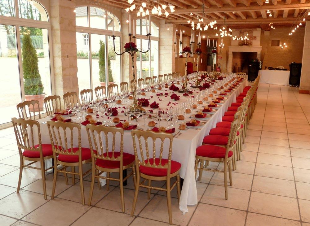 Notre salle de réception à 5 min de Falaise - Domaine de la Tour