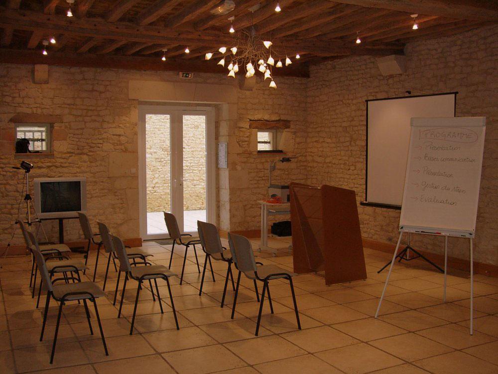 Organisation d'une réunion au Domaine de la Tour