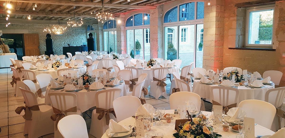 Salle de réception Louis XV - Domaine de la Tour