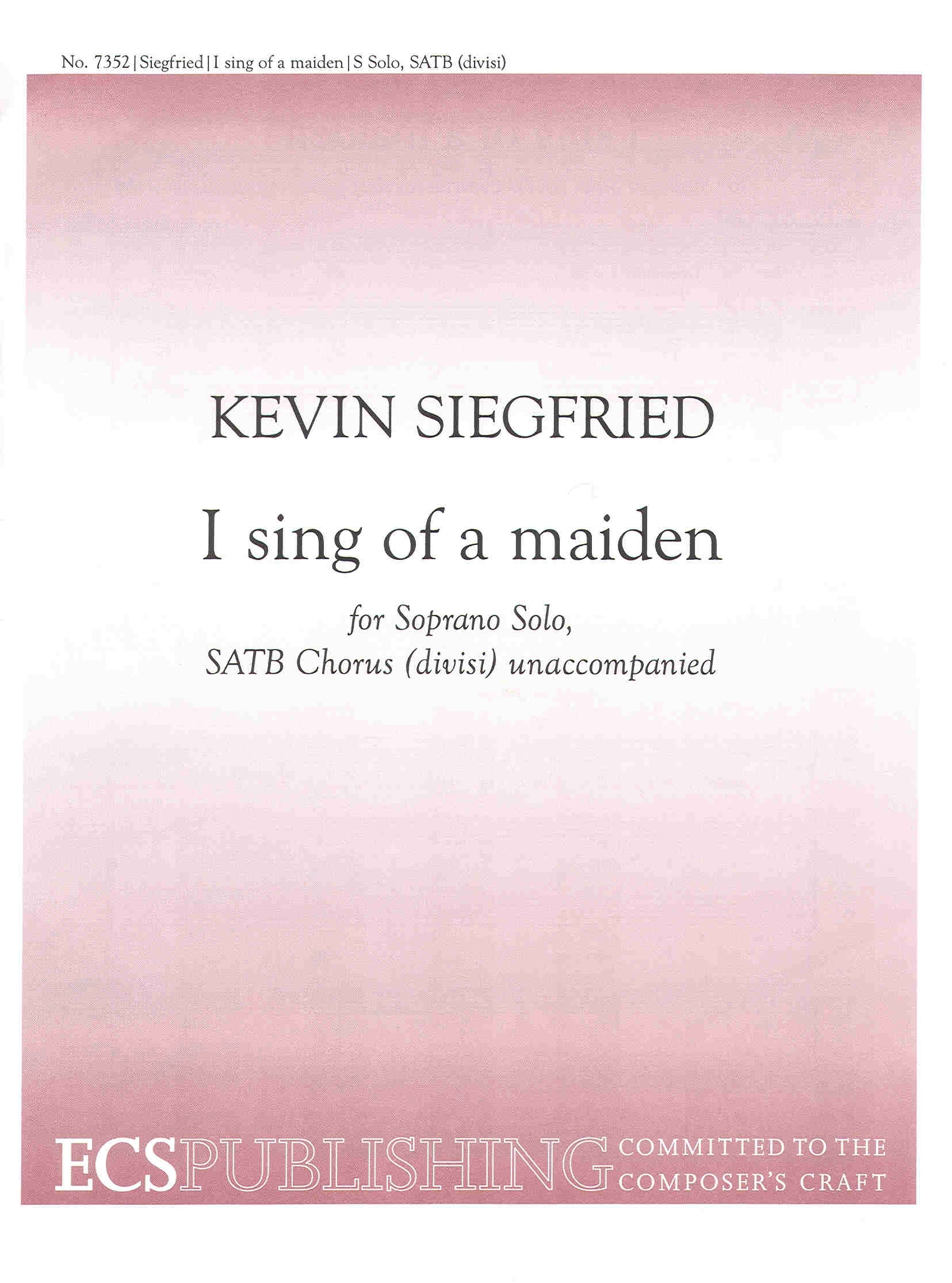 I sing of a maiden