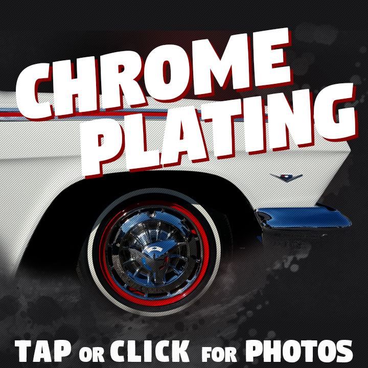 Capital Metal Finishing specializes in high quality chrome, tripple chrome & show chrome services.