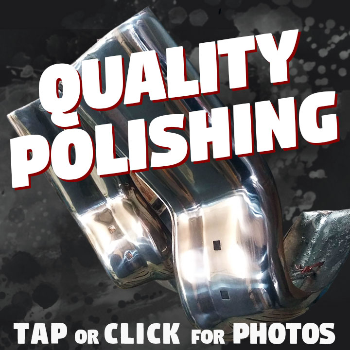 Polishing is used on to smooth the surface of any type of metal. we are able andexperienced in aluminium polishing, stainless steel polishing & pot metal polishing. Capital Metal Finishing even has experience with decorative metals like cooper, silver and brass!