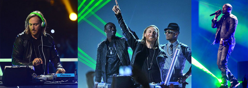Billboard Awards 2013 (Dressed David Guetta & Akon)