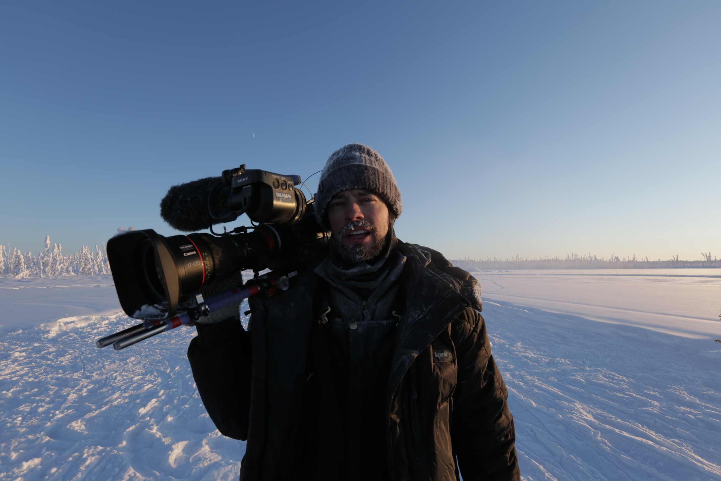 Chris in the Arctic National Wildlife Refuge in February 2015