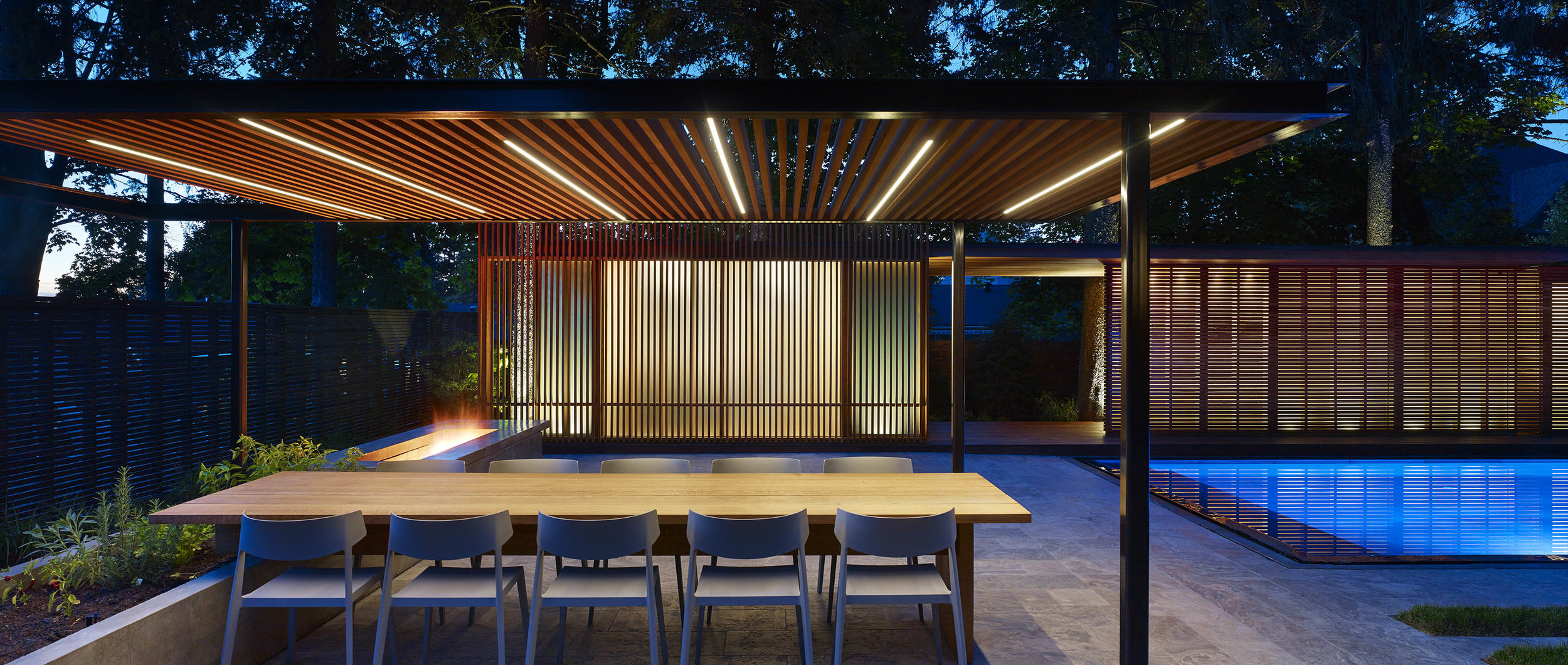 Pavilion by Amantea Architects