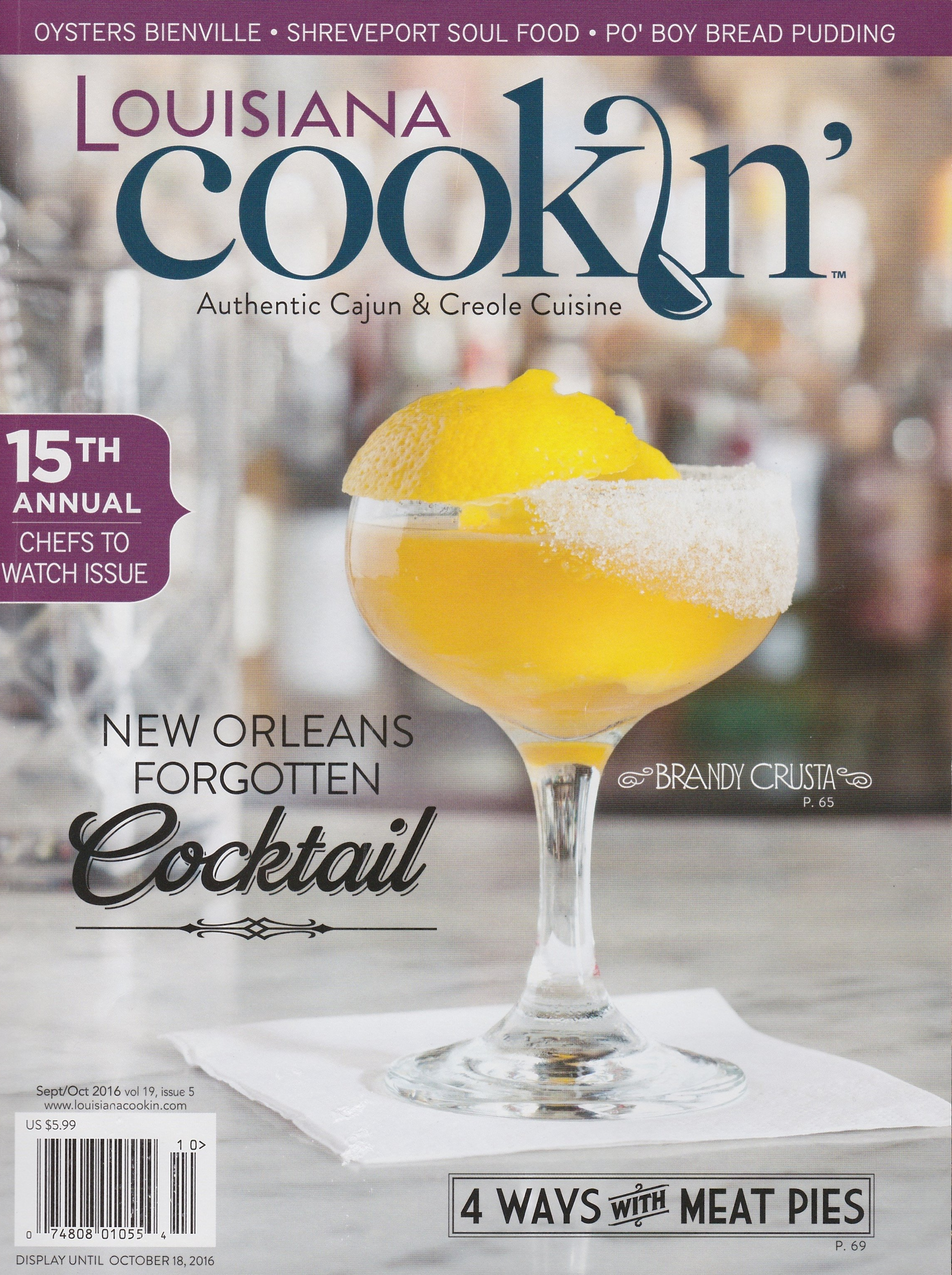 Louisiana Cookin' - Spillin' The Beans New and Notable