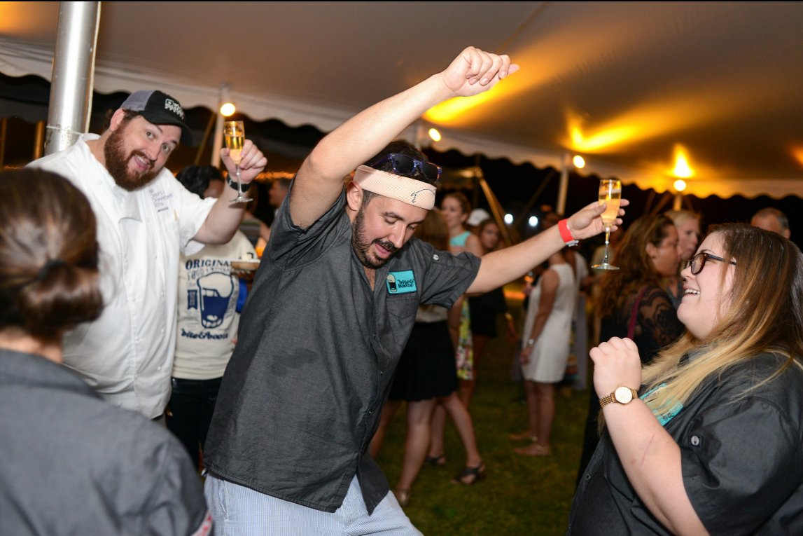 New York Times - James Beard Foundation Chefs and Champagne