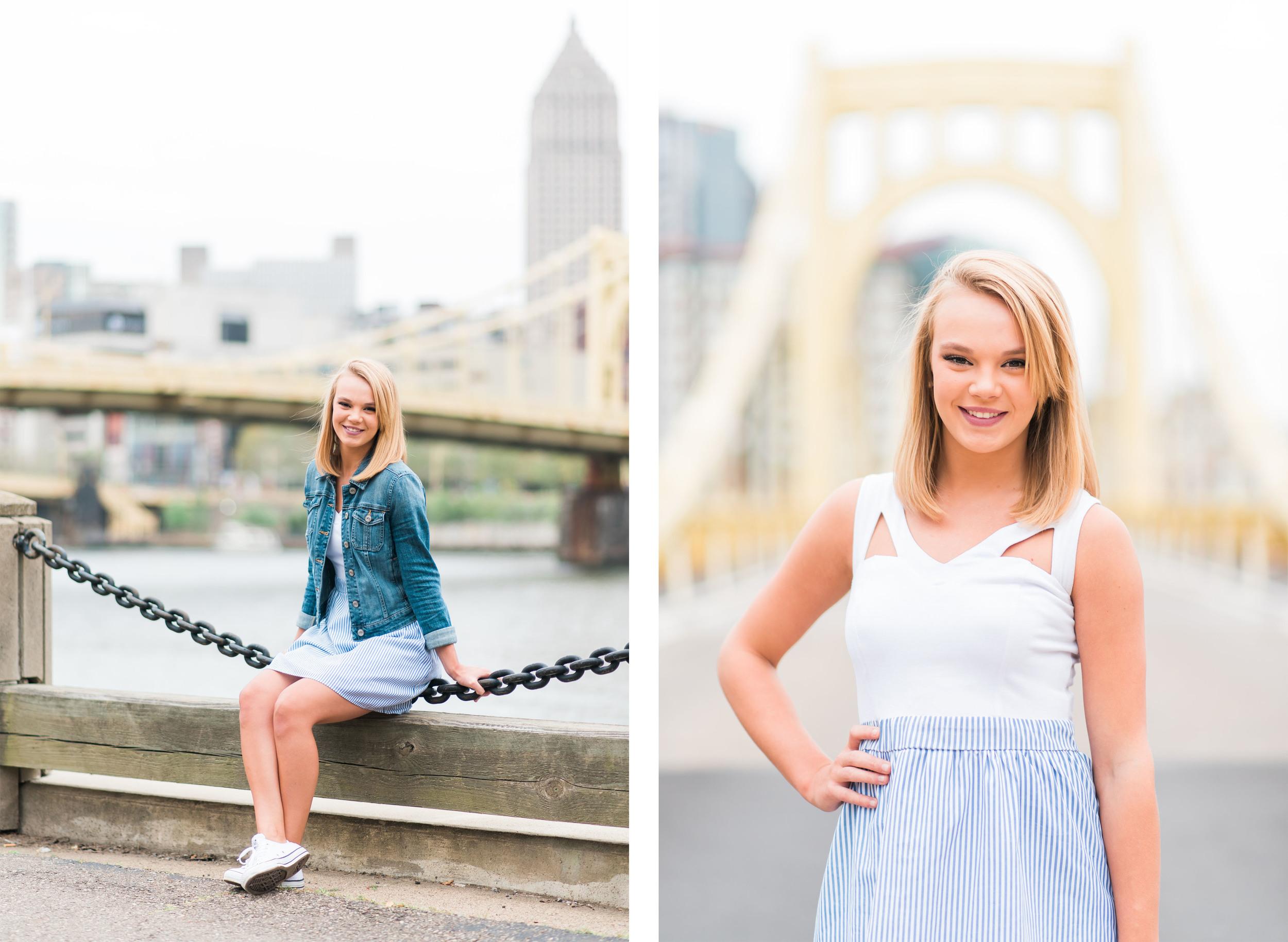 Molly Senior Portraits | North Shore Pittsburgh Senior Pictures 14