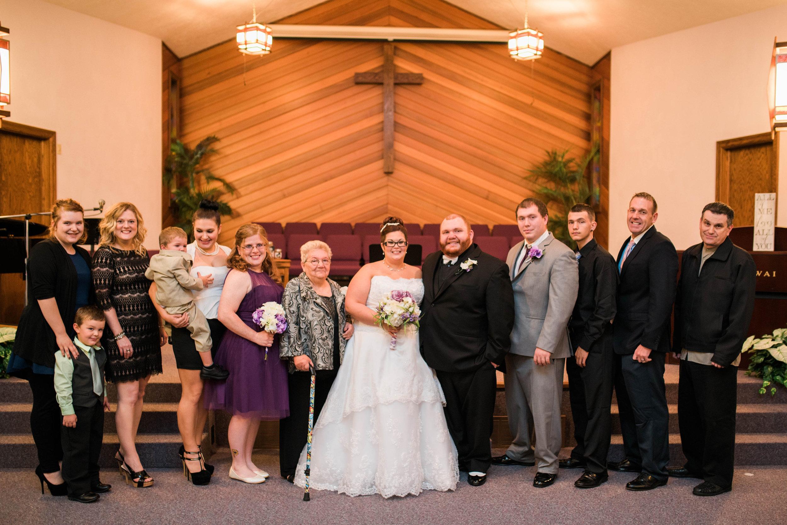 Ashley and Rocko | Pittsburgh Wedding Photographer | Embassy Suites