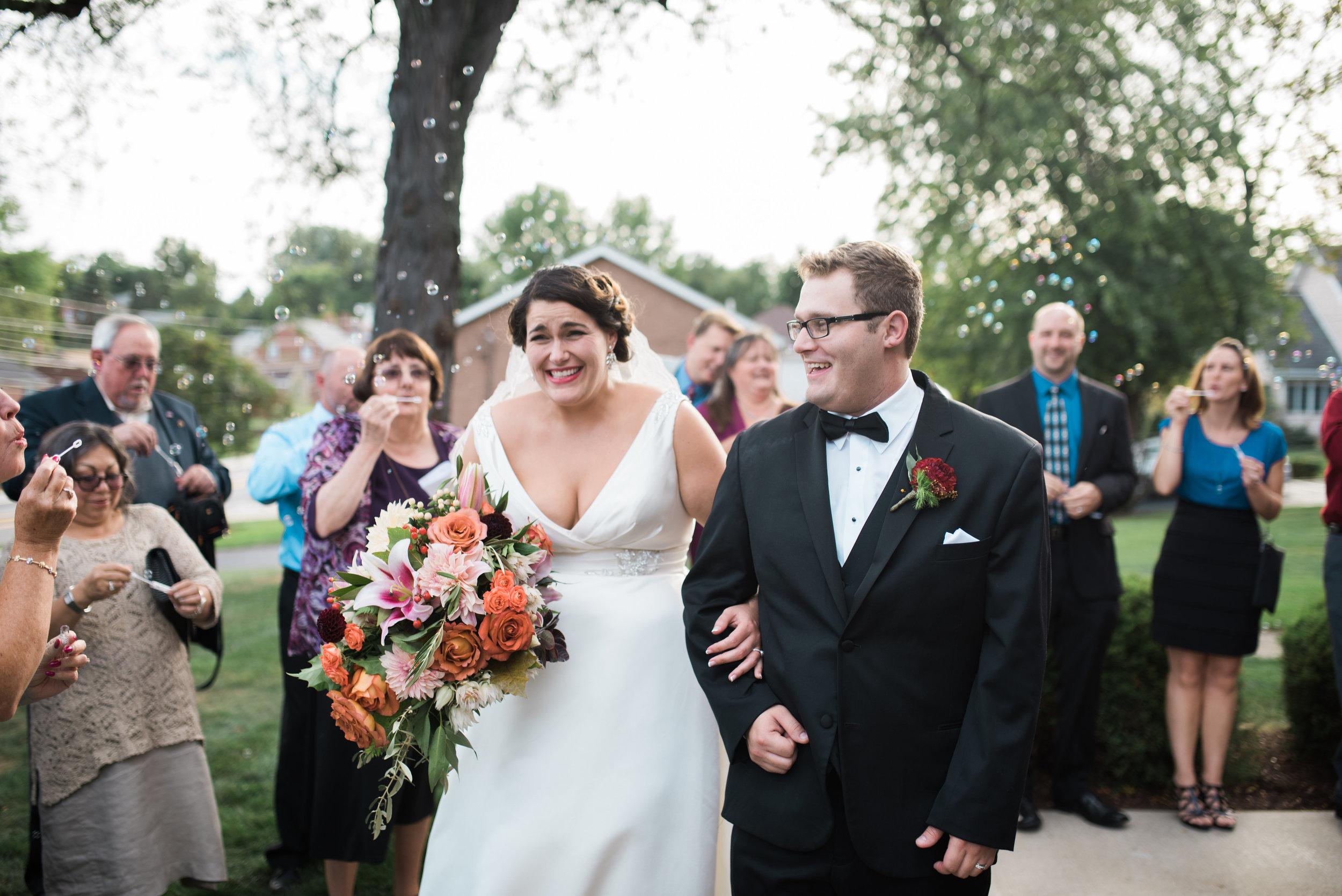wedding day walking down the aisle, wedding photographer