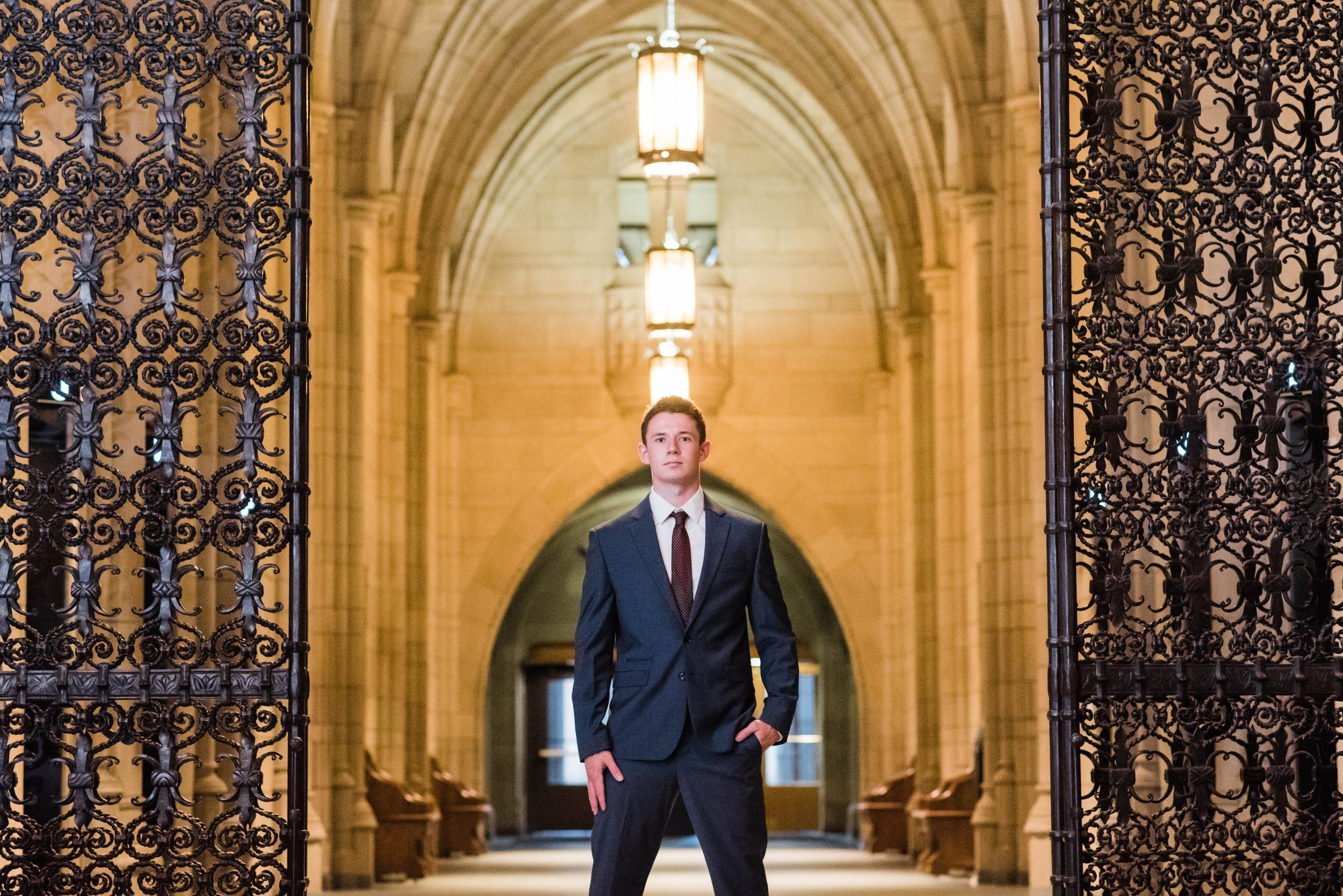 cathedral of learning senior portrait photographer